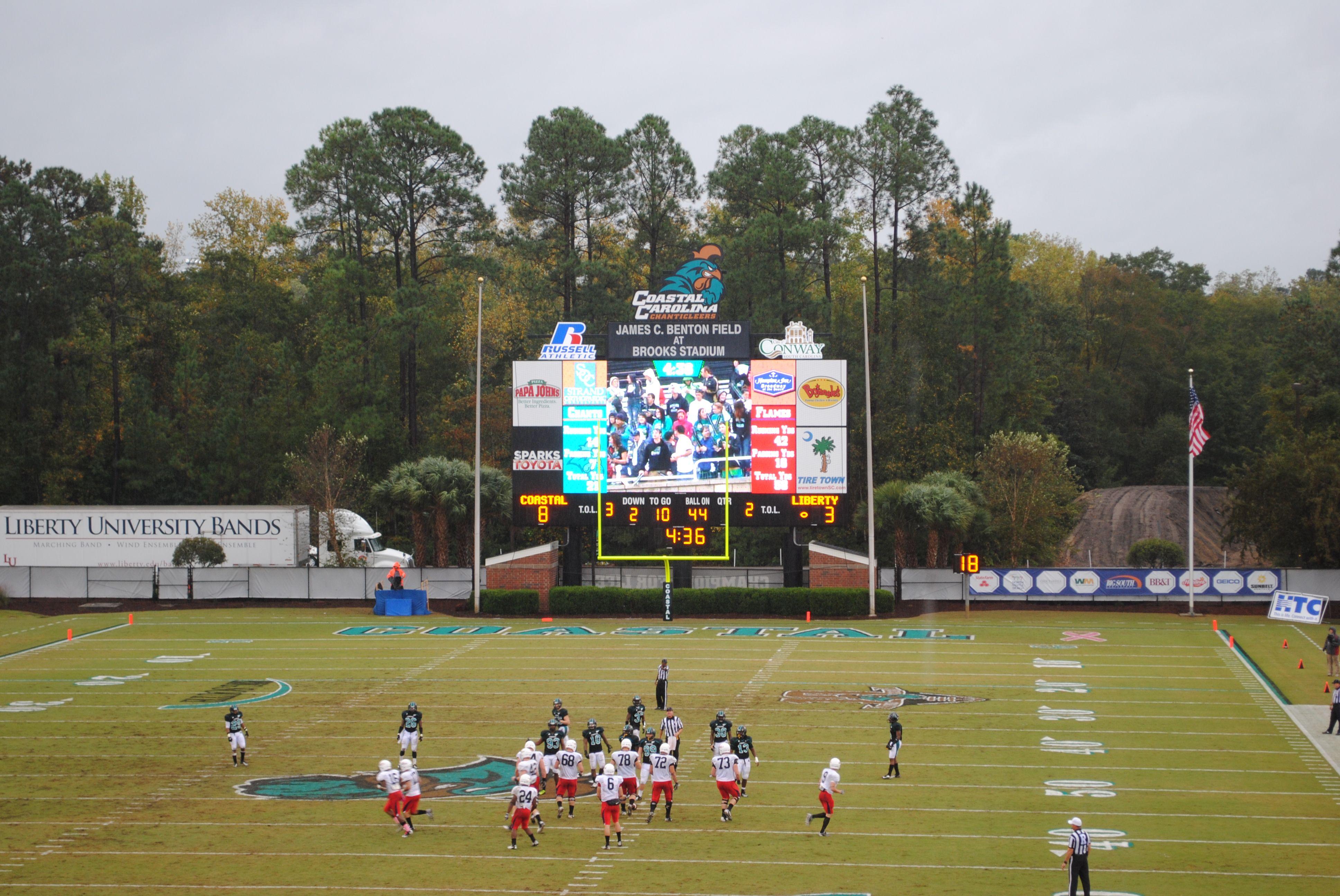 Pin by Coastal Carolina Athletics on Football Liberty