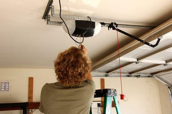How To Reset Garage Door Opener Limit Switches Ehow Garage Door Opener Garage Doors Garage Organization