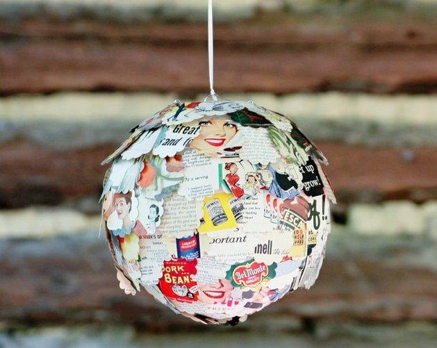 Φτιάξε και εσύ ένα φωτιστικό με αποκόμματα από περιοδικά - http://ipop.gr/themata/ftiaxnw/ftiaxe-ke-esi-ena-fotistiko-me-apokommata-apo-periodika/