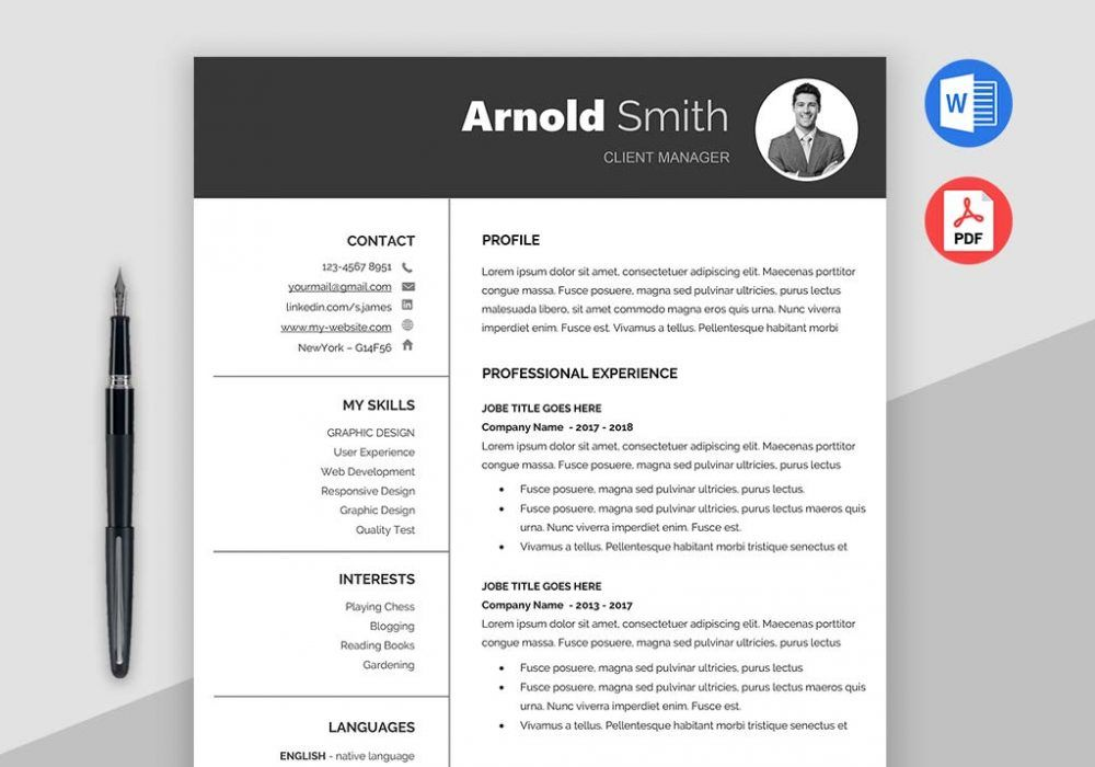 Forever Best Resume Templates Downloadable Maxresumes in