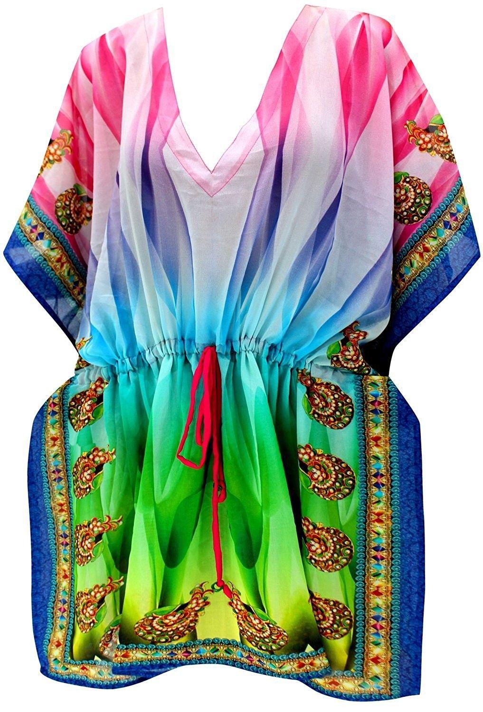 934289d554f Swimsuit Swimwear Cover ups Bathing Suit For Women Hawaii Miami Resortwear  Dress - Tricolor - CY184TX27DD,Women's Clothing, Swimsuits & Cover Ups, ...