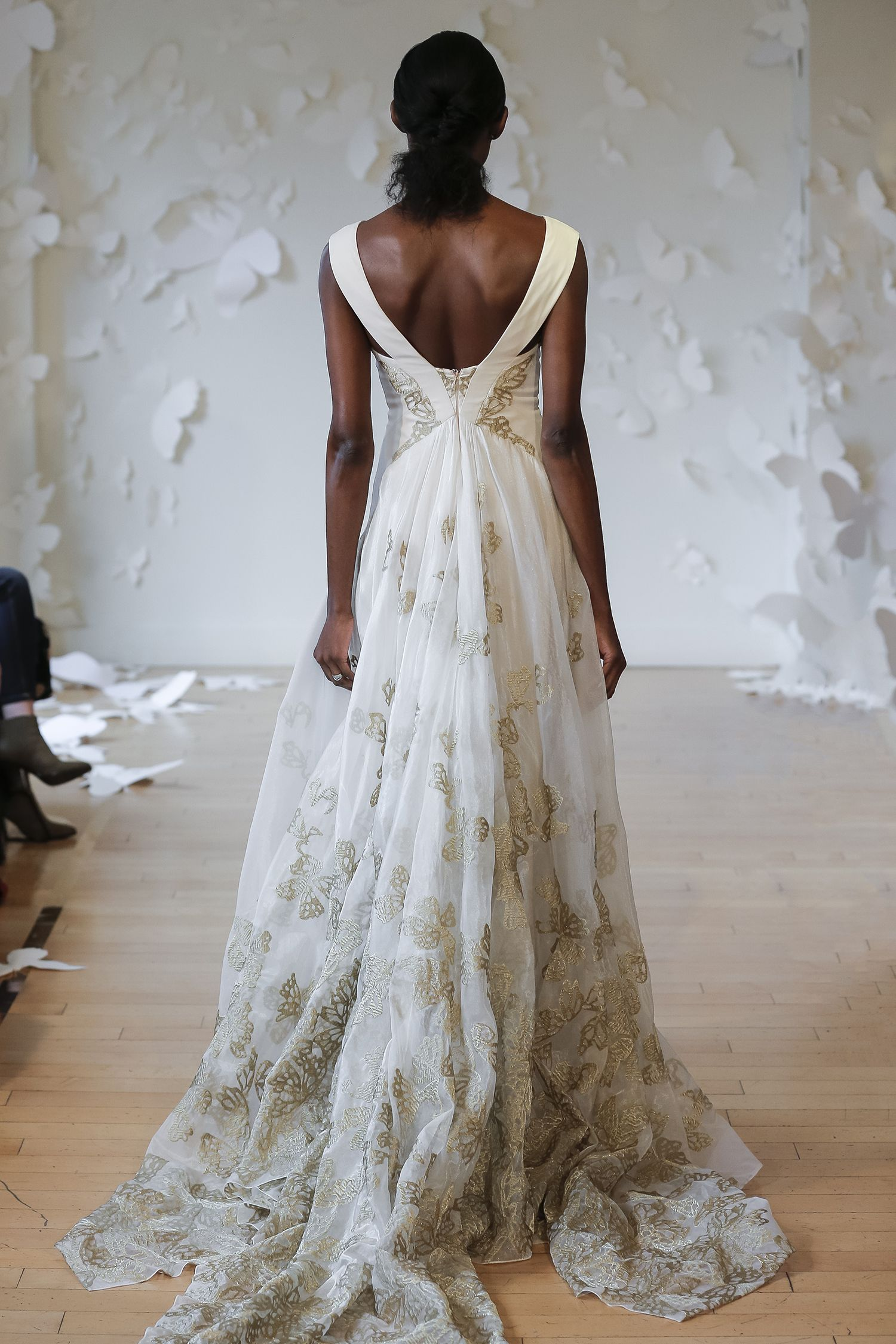 Carol hannah hydrelia gown from the monarch collection wedding gown