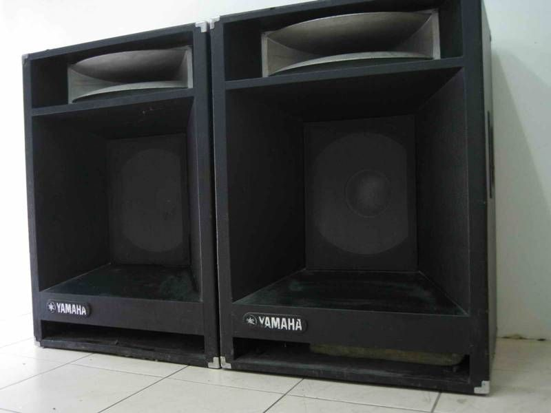 Yamaha S4115H Cabs. These babies got lots of use for many