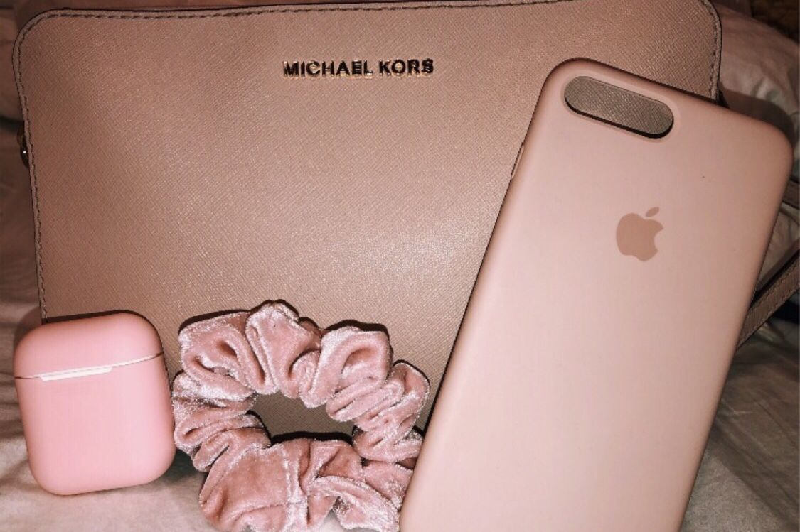 Michael Kors Rose Gold Iphone 6 Iphone 7 Cover Tech Accessory