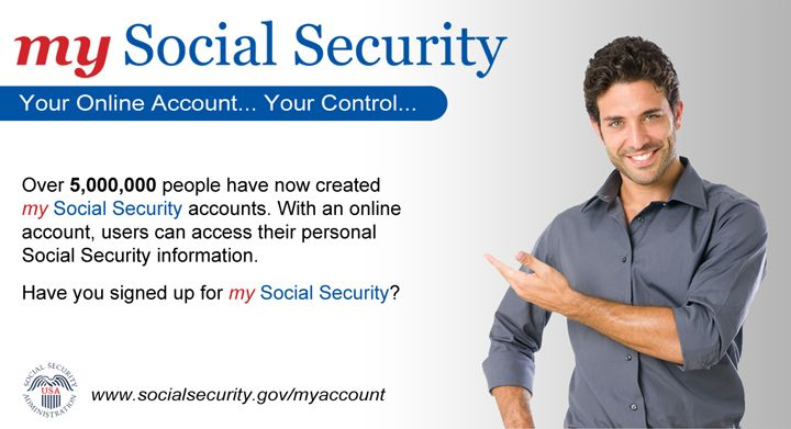 5 million people have signed up for  - Social Security Change Of Address