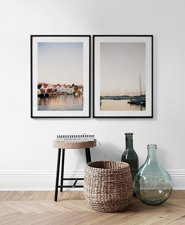 Gallery wall and picture collage inspiration | Living Room ...