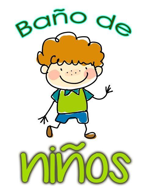Educacion Actualizada Carteles Para El Bano Del Jardin De Ninas
