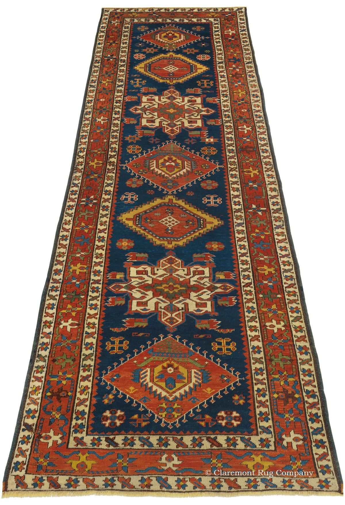 Bakshaish Northwest Persian 3ft 2in X 10ft 4in Circa 1875 Antique Persian Bakshaish Carpets In Runner Sizes Are Incredibly Rare And Halilar Kilim Desenler