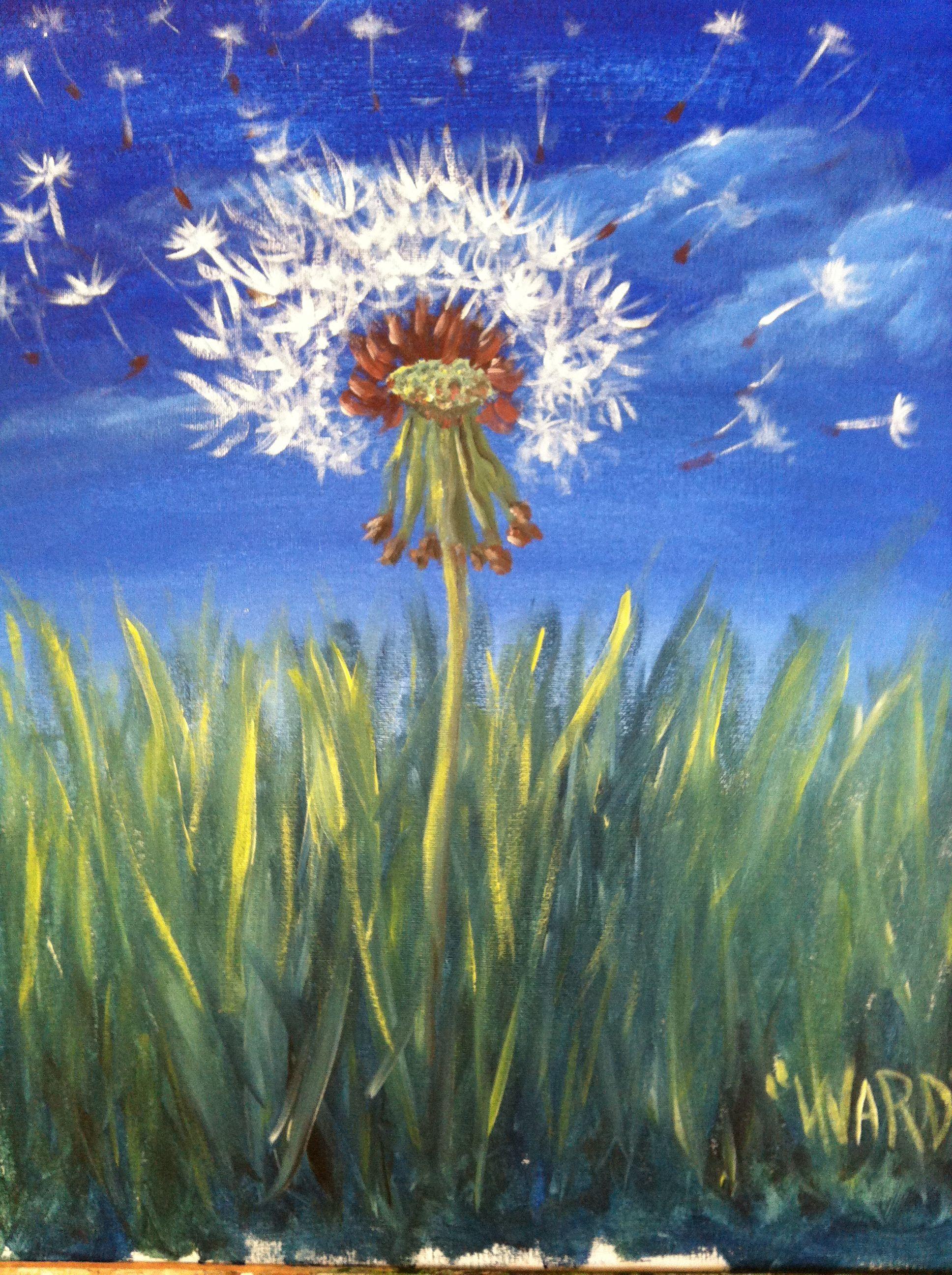 watercolor image by Karen Hall Painting, Paint nite