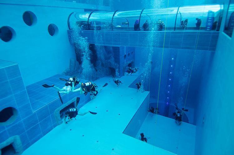 Y40 Pool Deep Diving pools in 2019