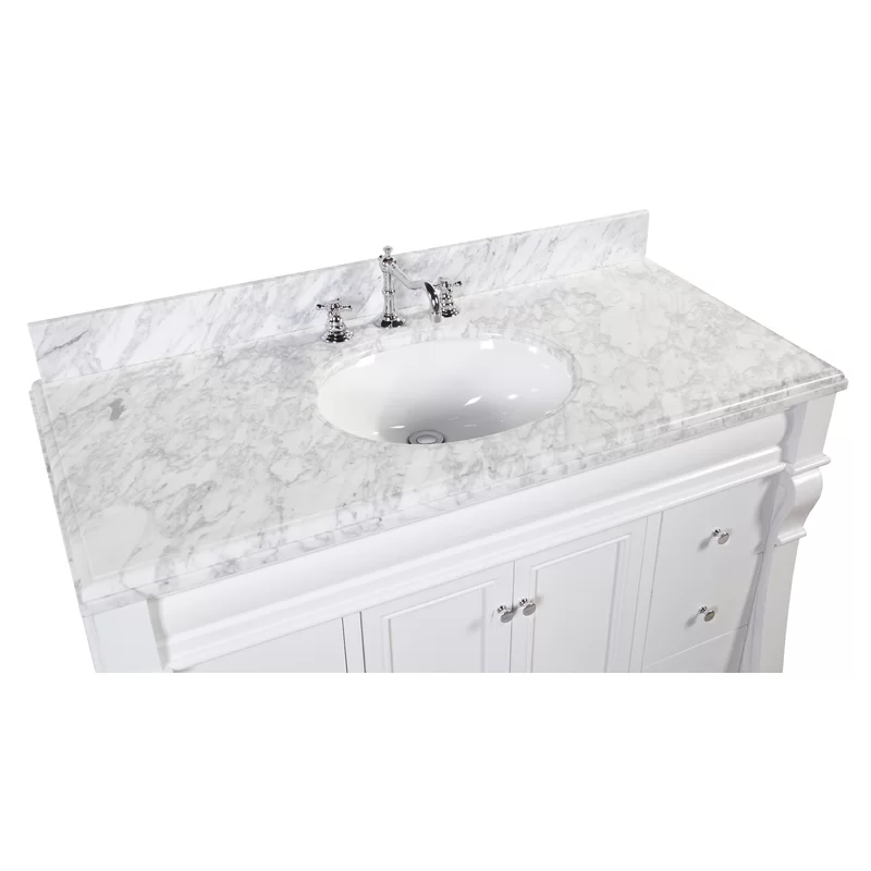 Charlton Home Potter 48 Single Bathroom Vanity Set Reviews Wayfair Bathroom Vanity Bathroom Vanity