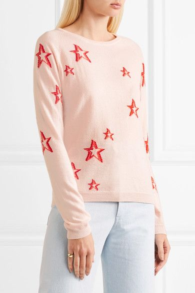 3D Star Cashmere Sweater Chinti and Parker Wiki Latest Collections For Sale Cheapest Price Cheap Online 6laNTpPUs