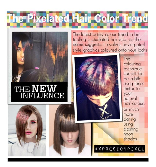 The Pixelated Hair Color Trend Xpresionpixel Hair Color Trends Hair Color Natural Hair Color
