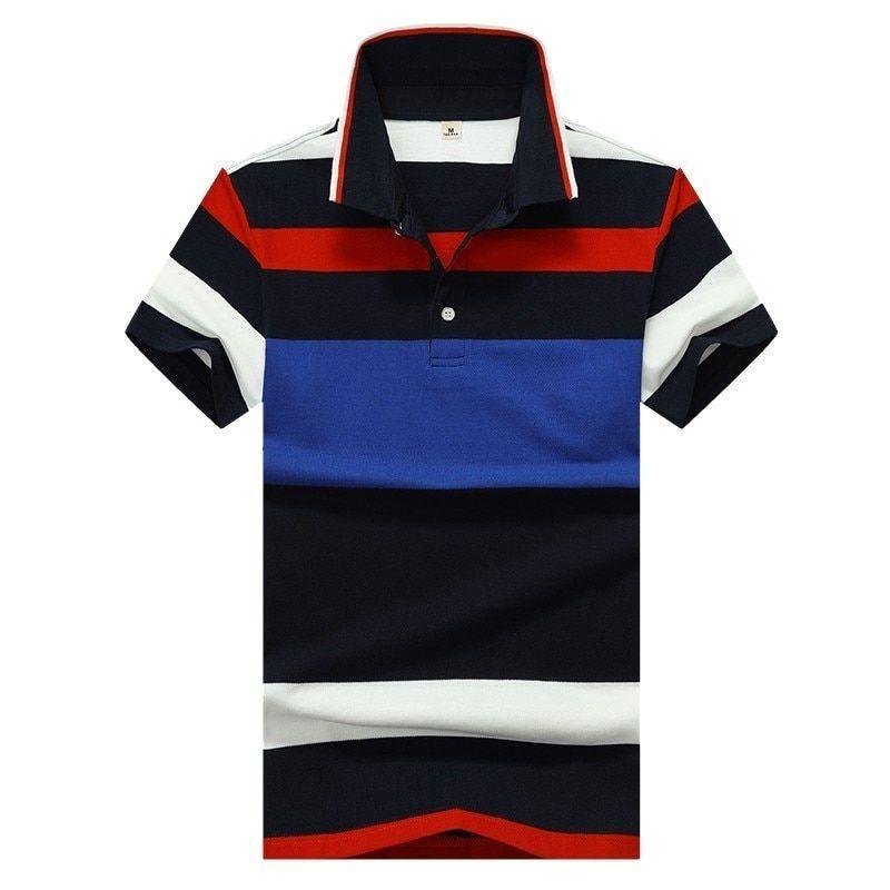 395e66651 Mens Polo Shirts Short Sleeve Casual Cotton Polo Shirts For Men 2019 New  Breathable Regular Polos