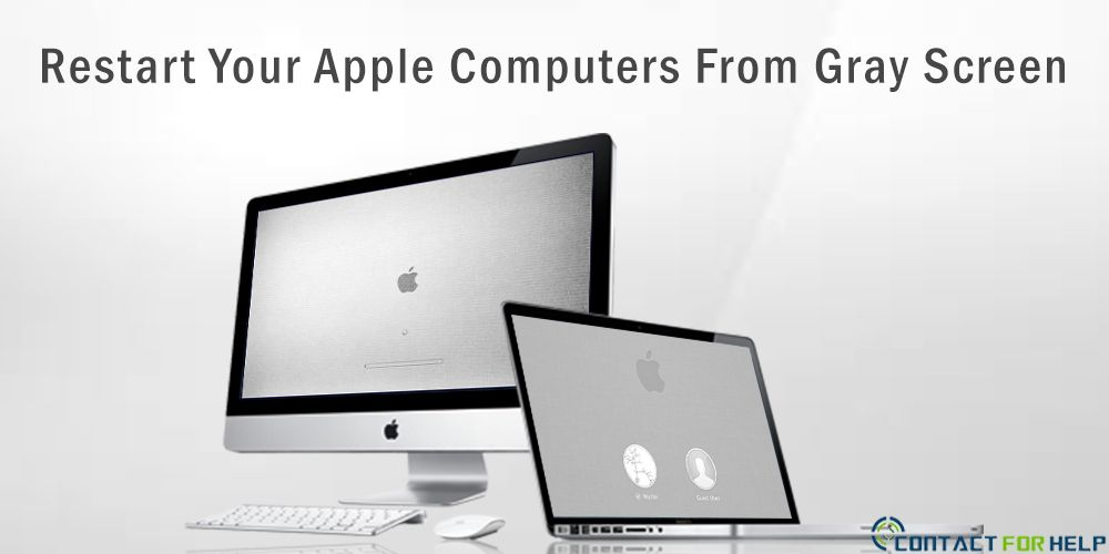 How To Restart Your Apple Computers From Gray Screen Apple Computer Computer Apple