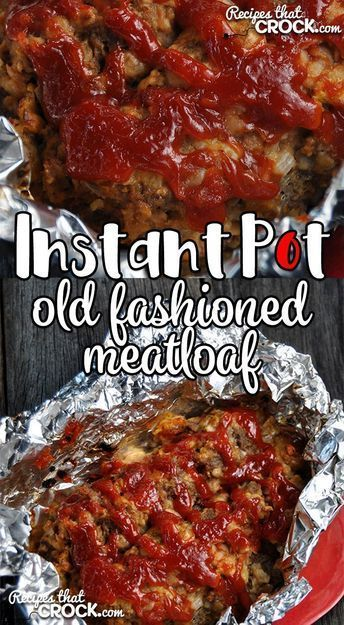 dinner in a hurry? This Instant Pot Old Fashioned Meatloaf takes our tried and true, super simple Old Fashioned Meatloaf recipe and turns it into an Instant Pot recipe!Need dinner in a hurry? This Instant Pot Old Fashioned Meatloaf takes our tried and true, super simple Old Fashioned Meatloaf recipe and turns it into an Instant Pot recipe!