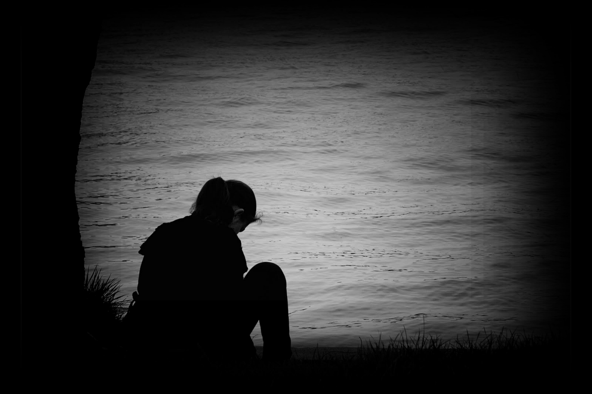 Dark And Lonely Again Lonely Art Alone Boy Wallpaper Lonely Girl