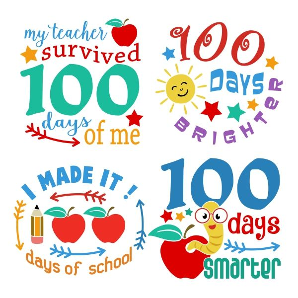 Cricut Crafts 100 Day Of School Project 100th Day