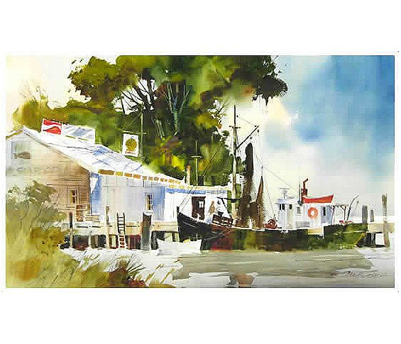 Dillman S Creative Art Workshops 2016 Tony Couch Watercolor