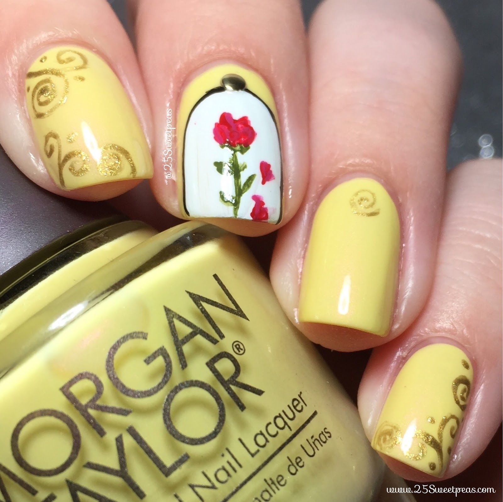 The Nail Art And Beauty Diaries: Beauty, The Beast Nails