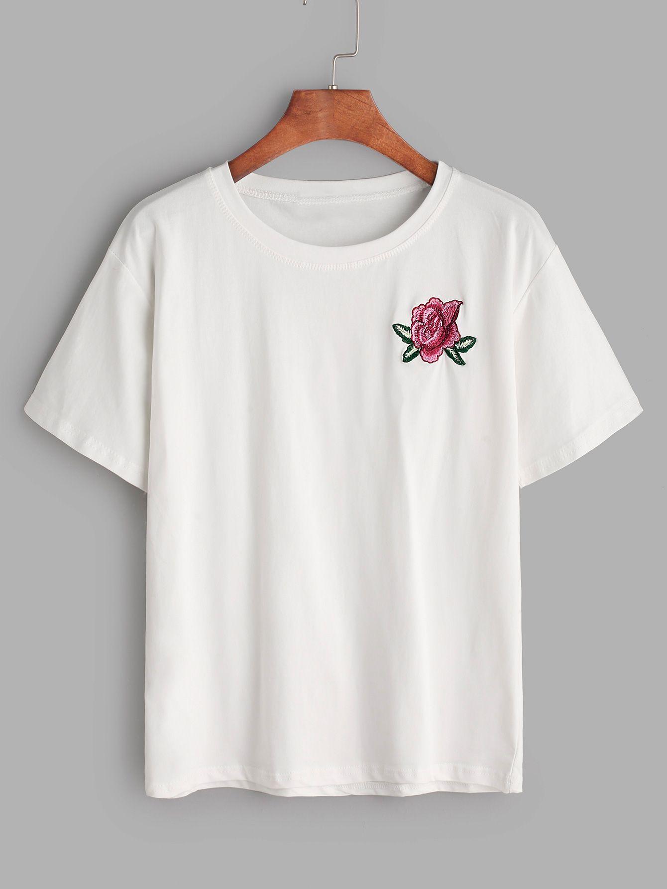 Cotton Linen Mandarin Collar Floral Embroidered Shirt - WHITE 2XL