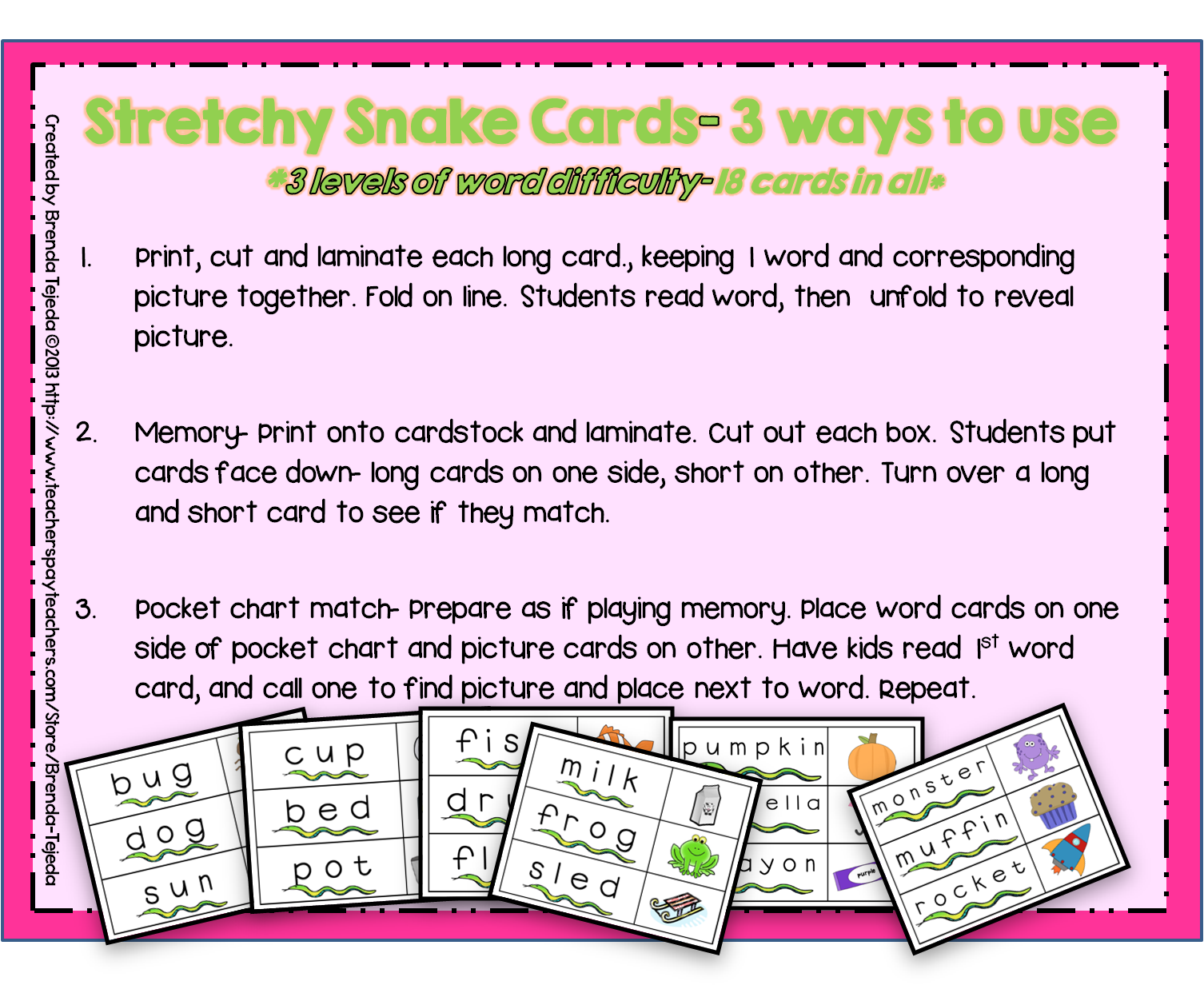 Reading Strategy Stretchy Snake Ppt Centers Lesson