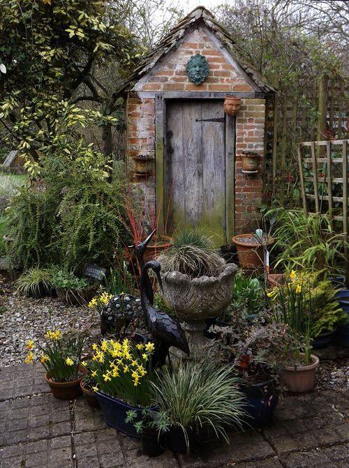 Autumn Cottage Diarist Cottage Garden Sheds Cottage Garden