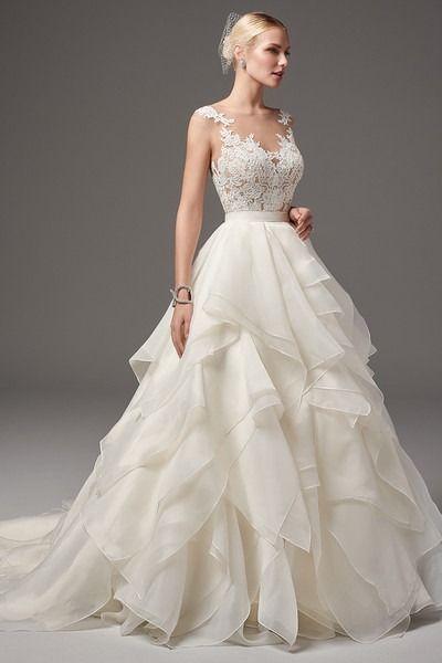 15+ Layered wedding dress ideas