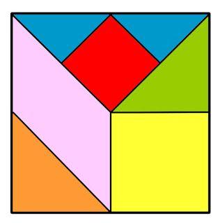 Tangram De Fletcher Para Imprimir Tipos De Triangulo Quadrado