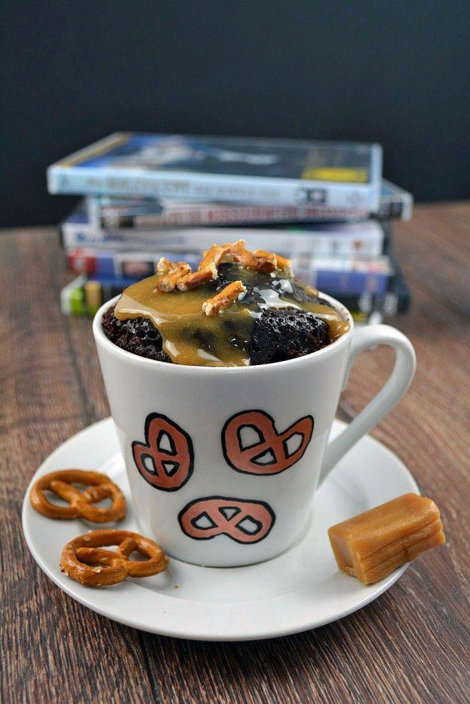 Mug Cake Monday Schoko Karamell Tassenkuchen Und Ein Paar Andere