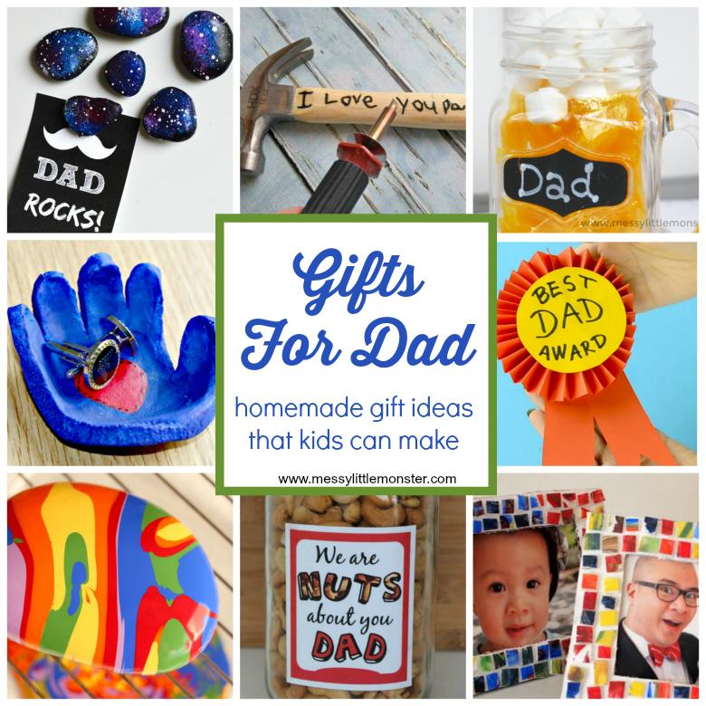 Homemade Gift Ideas That Kids