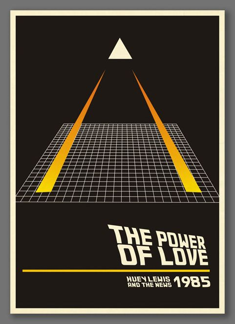 Retro Posters About 80s Music Hits By Pablo Canepa 80s Design Awesome 80s Design 80s Posters Music Artwork