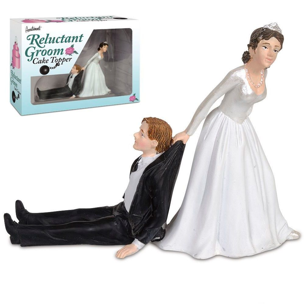 Reluctant groom cake topper funny gift ideas pinterest groom
