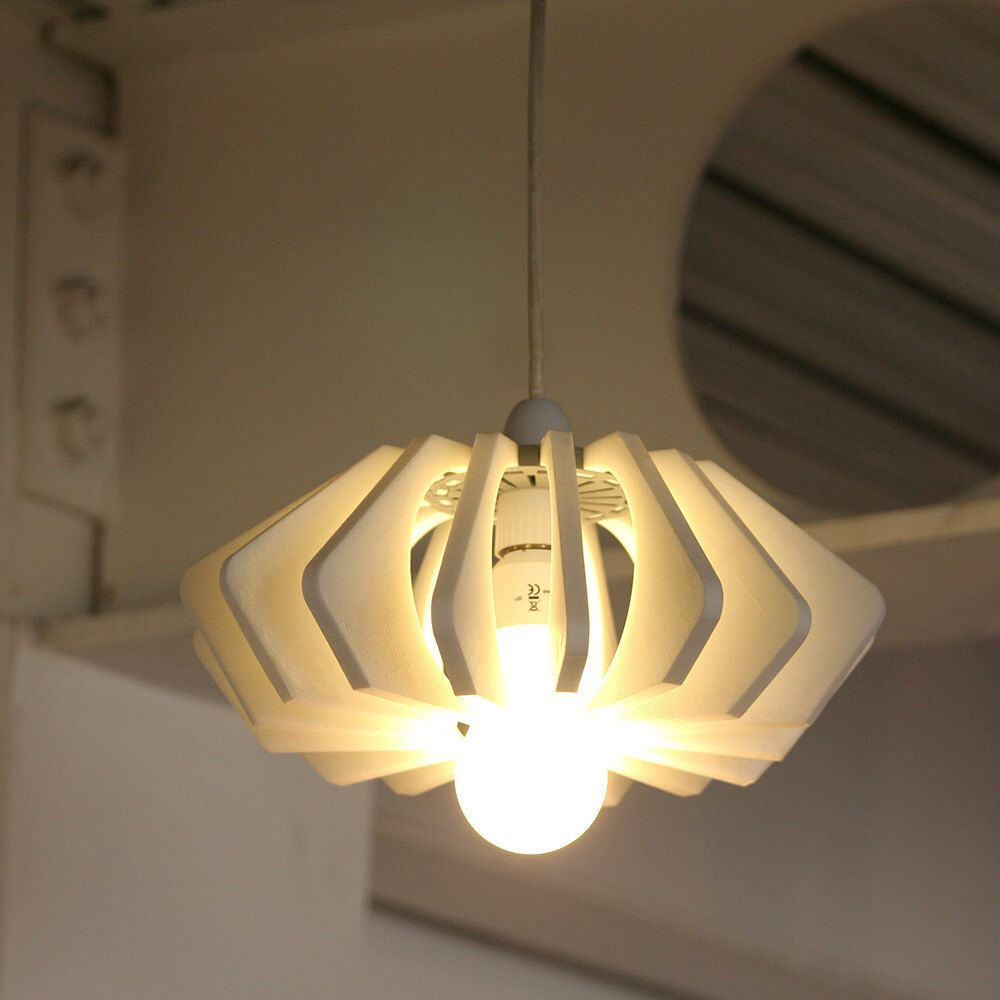3d Printed Light3d Printed Lamp Shade3d Printed Light Etsy Lamp Shade Lamp Energy Saving Bulbs