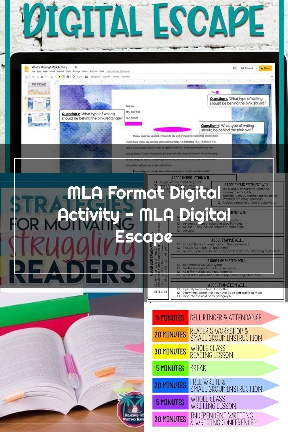 Pin On Middle School How To Separate Paragraph In Mla Format