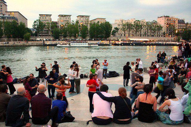 danser dans la Seine