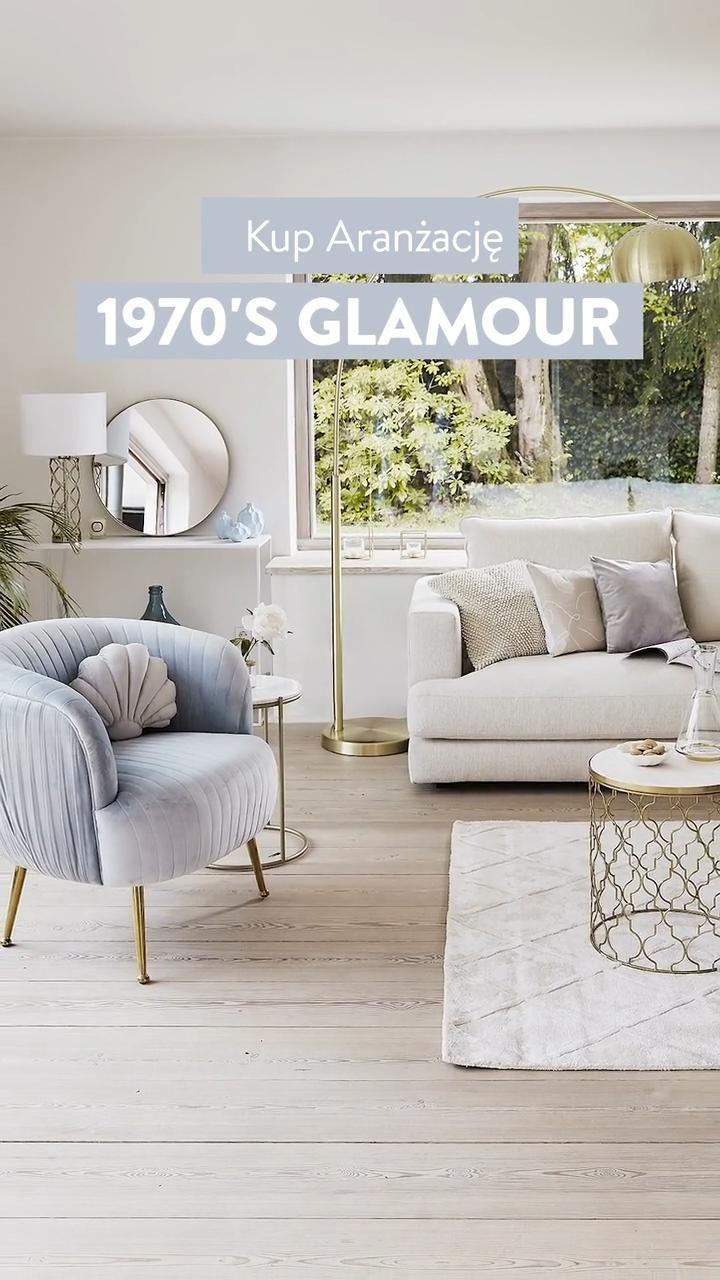 1970s glamour salon – kup aranżację