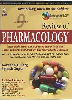 Kết quả hình ảnh cho review of pharmacology
