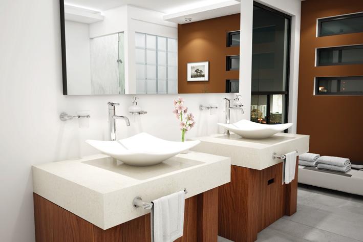 Cuidaelagua lavabo trazzo lv 5 lavabo cuadrado de sobreponer sin rebosadero colores - Lavabos de sobreponer ...