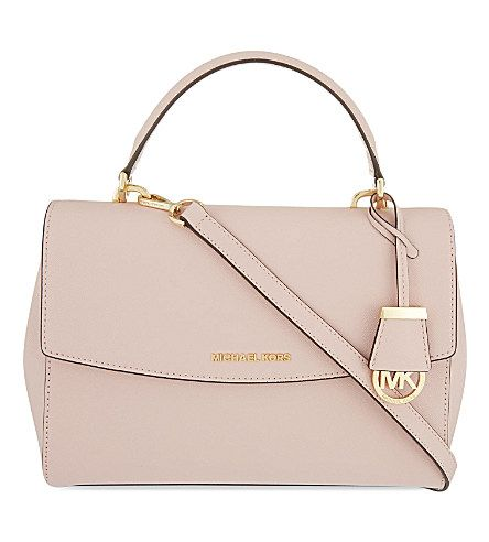 1b5bc844ec51 MICHAEL MICHAEL KORS Ava medium Saffiano leather satchel (Blossom