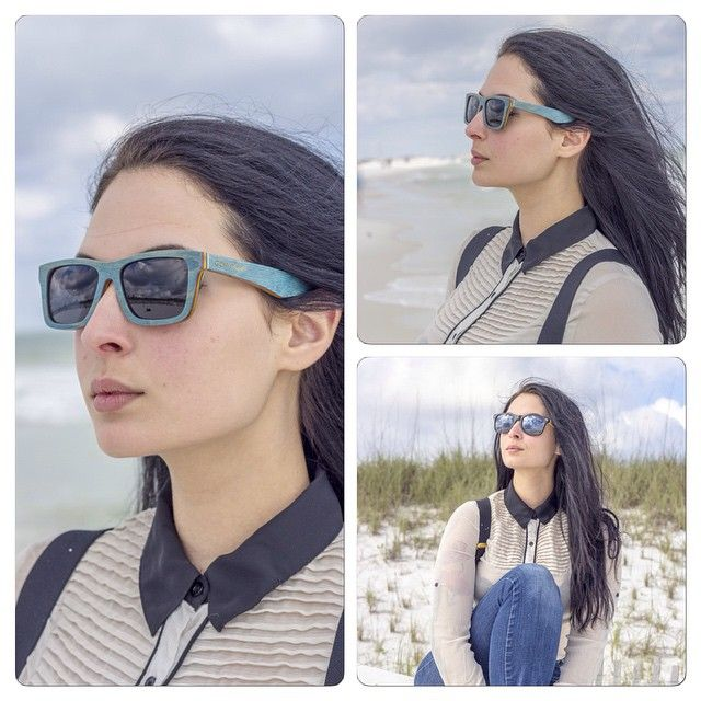 Beautiful photos from @raewadephotography of our popular Vancouver and Los Angeles models. Want to wear the same style? Order your wooden sunglasses with a 10% discount with voucher code GW2015 on our website gowood.ca  #photography #beach #florida #woodensunglasses #wood #sunglasses #montrealbusiness