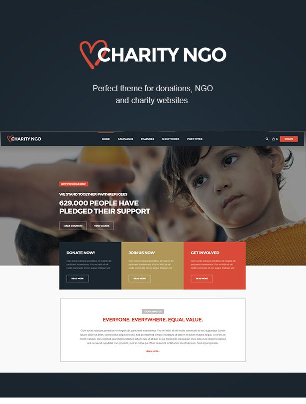 Download Charity Ngo 8211 Donation 038 Nonprofit Ngo Charity Wordpress Theme Charity Charity Websites Nonprofit Website Design Charity Fundraising