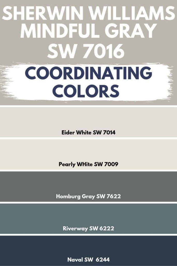 Sherwin Williams Mindful Gray SW 7016