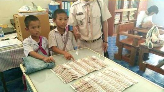 Photos: Two underprivileged schoolboys return money found in old clothes donated to them https://t.co/3DqLJgY7d6 https://t.co/CPdgUnEqy2