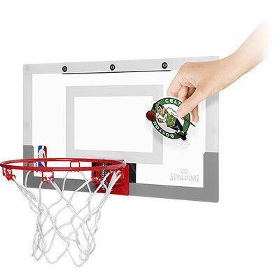 Mini kosz tablica Spalding NBA Slam Jam Board dla dzieci z naklejkami +piłka - Basketo.pl