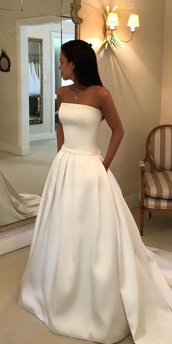 Photo of 27 Silk Wedding Dresses For Elegant and Refined Bride | Wedd