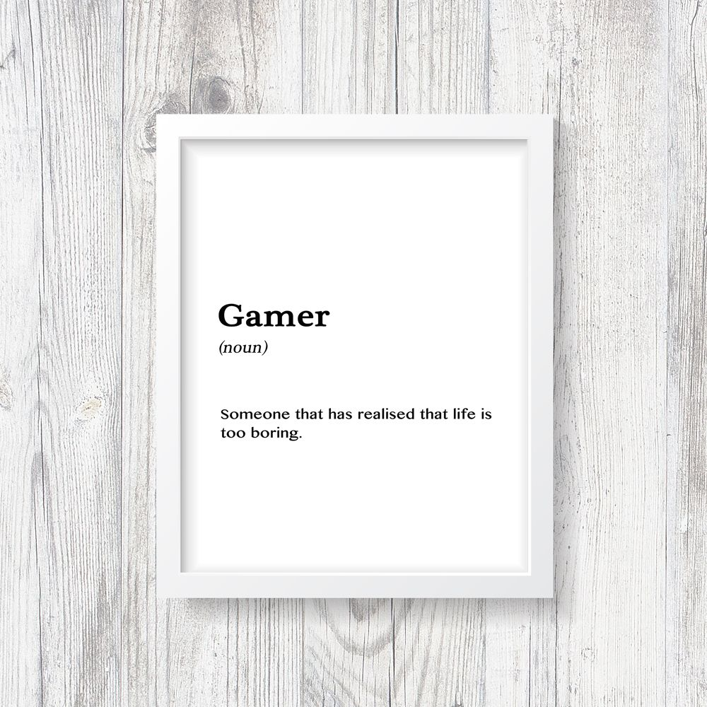 Gamer Print Definition, Boys Bedroom, Girls Room, Gaming, Call of ...