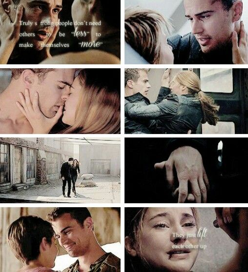 Truly strong people dont need others to be less to make themselves more. They just lift each other up #fourtris #divergent