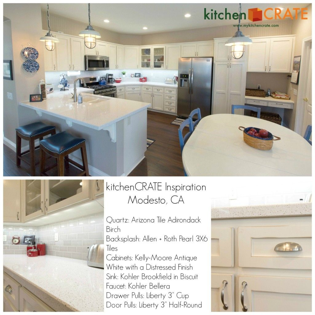 Kitchencrate Inspiration Drive Modesto Ca Quartz Arizona
