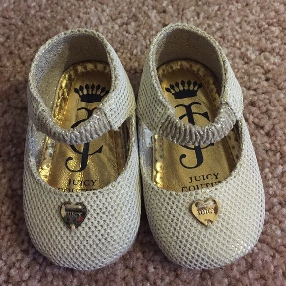 Juicy Couture baby girl gold and silver